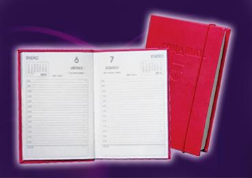 Agendas diarias de caja y memorandum de bolsillo - modelos